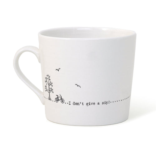 East of India 'Don't Give A Sip' Mug