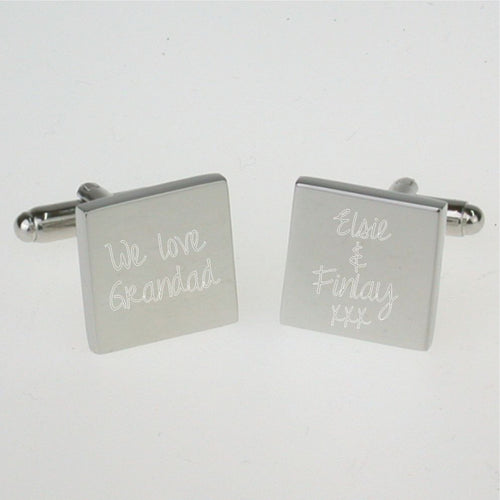 'We Love Grandad' Cufflinks