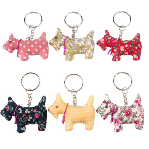 Sass and Belle Scotch Scottie Keyring