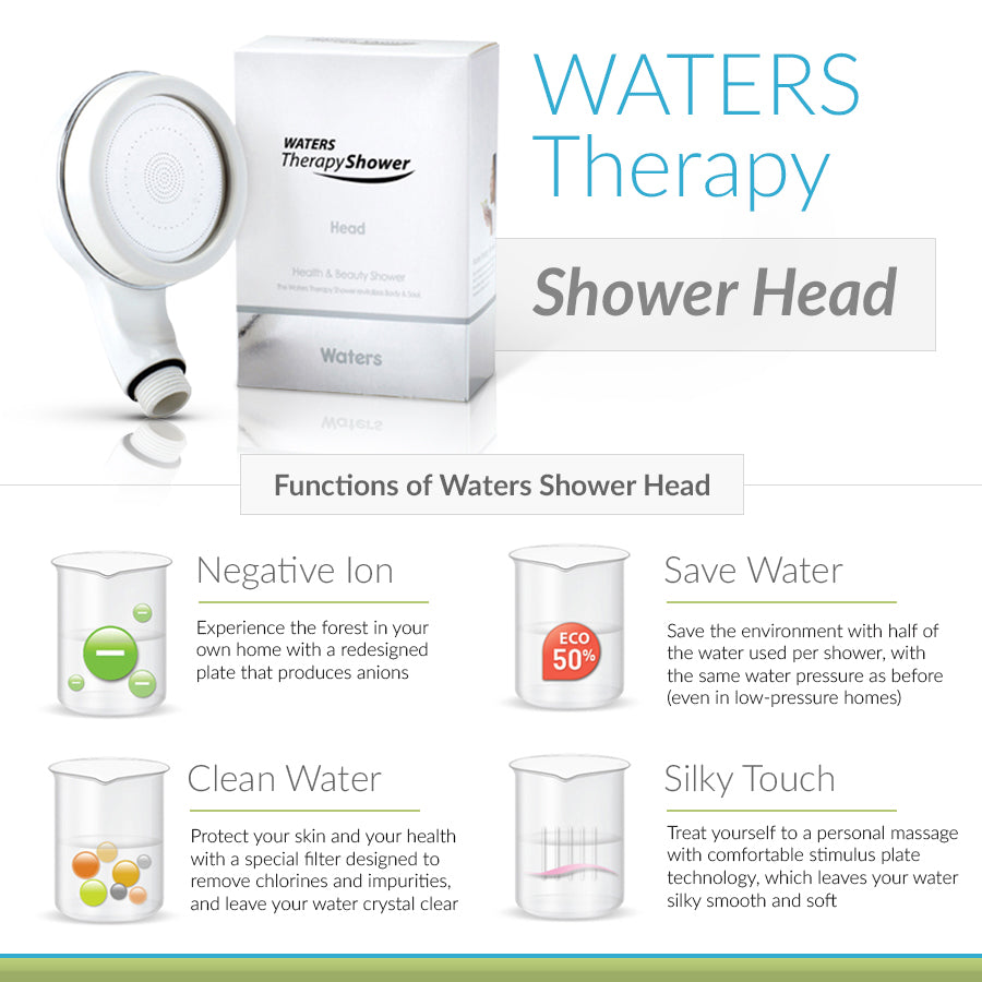 Official Store Waters Therapy Shower Head - Buy Online Fast Shipping