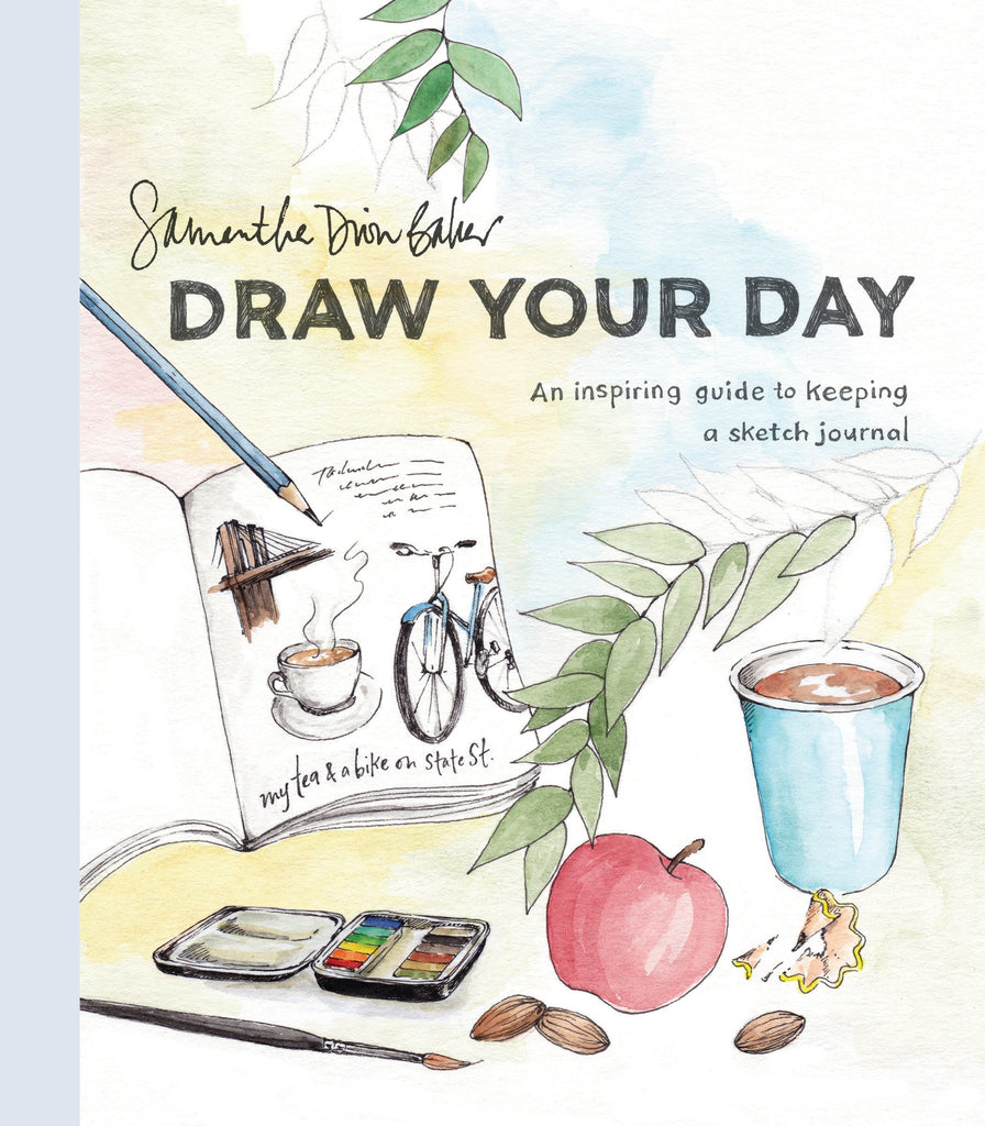 June 2019:  Draw Your Day By Samantha Dion Baker