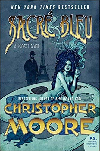 December 2018:  Sacré Bleu by Christopher Moore