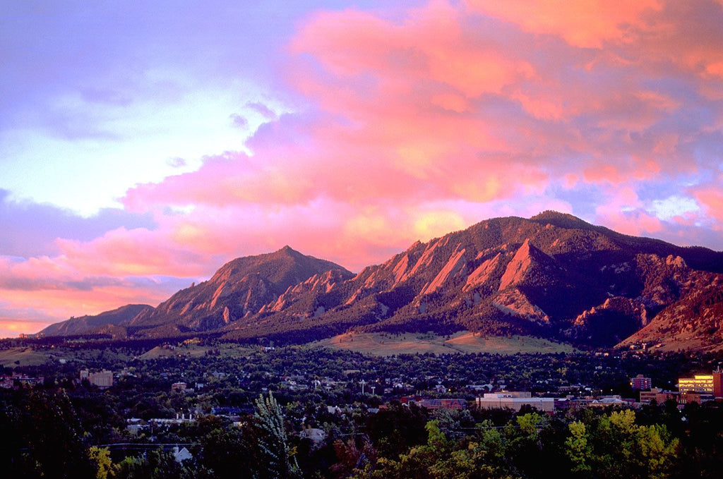Boulder Colorado Flatirons Watercolor Workshop