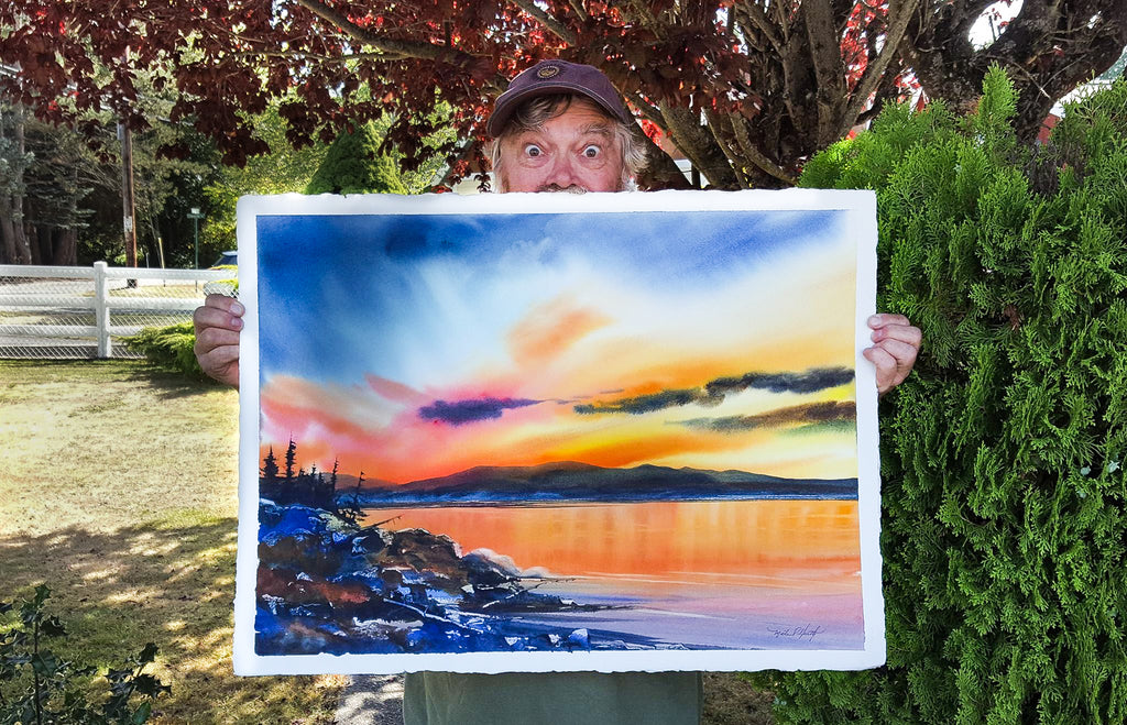 Michael Heath Artist Watercolor Master Instructor Pacific Northwest