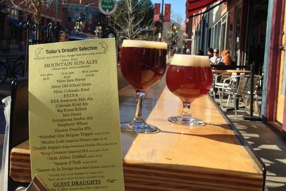 Mountain Sun Brewery Boulder Colorado Greenleaf and blueberry Workshops
