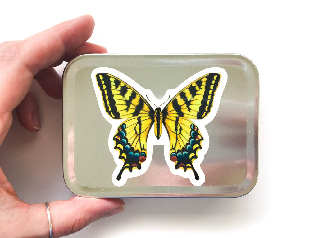 Tiger Swallowtail Butterfly Sticker