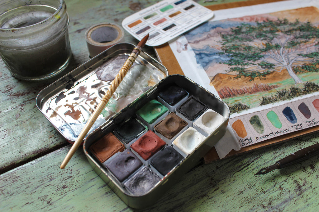 Next Level Watercolor Workshop Sun., August 30th, 2020, 9:30am-12:30pm