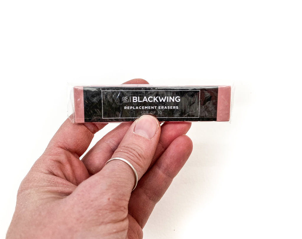 Replacement Erasers for Blackwing Pencil (Pink)