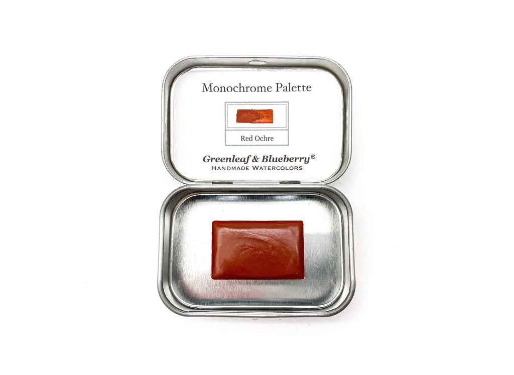 Red Ochre Monochrome Set (Full Pan)