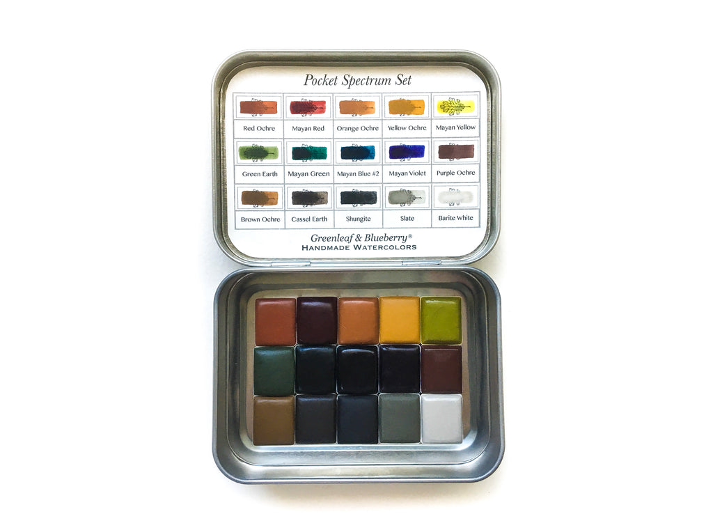 Pocket Spectrum Set (Half-Pans)