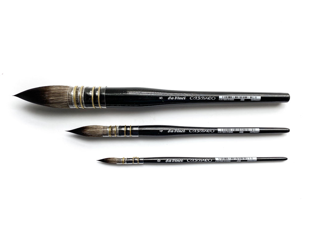 Da Vinci Casaneo Watercolor Brush Quill