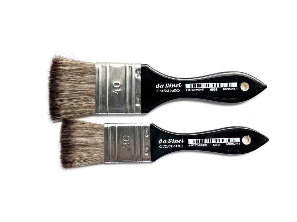 Da Vinci Casaneo Watercolor Brush Flat Wash