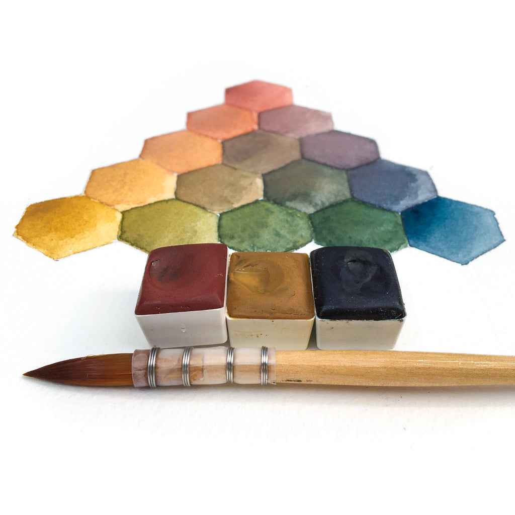 Color Pyramid Paintable Project Digital Download