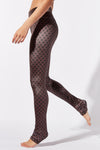 Indian Gate Velvet Legging Long Length