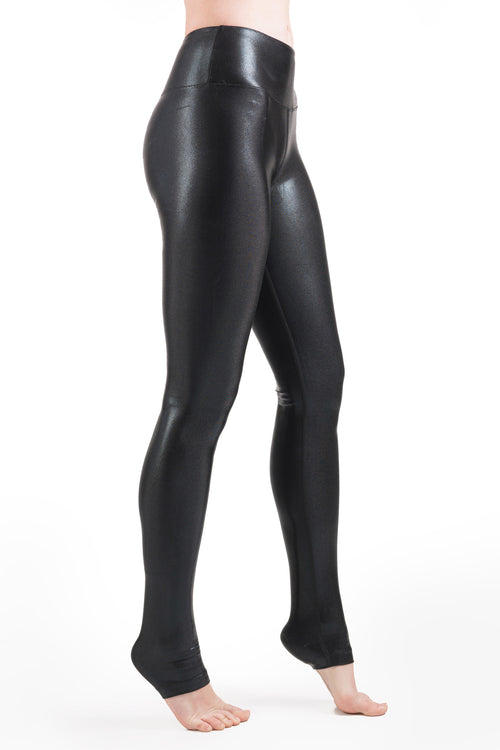 Laila Metallic Legging Long Length