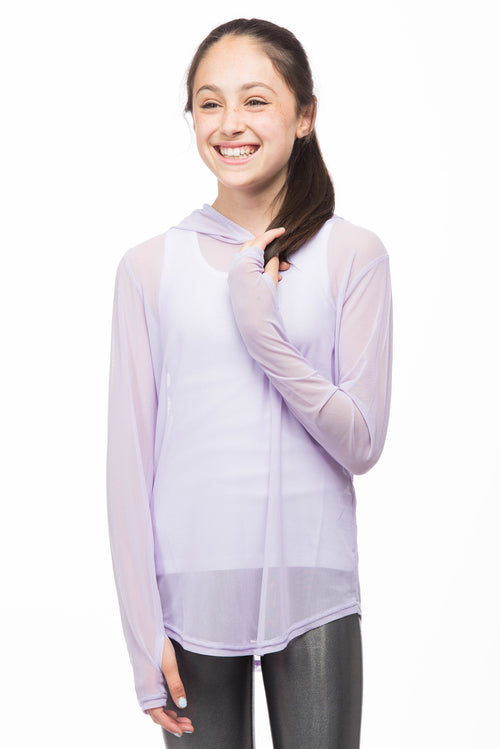 Ritu Mesh Hoodie for Girls