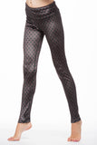Indian Gate Velvet Legging for Girls