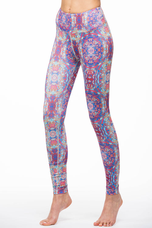 Red Stained Glass Legging