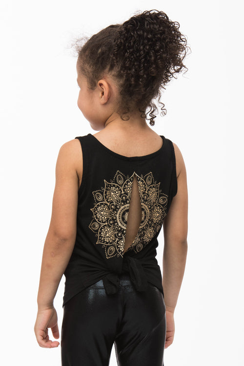 Printed Uma Top for Toddlers