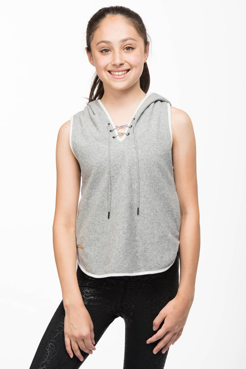 Chandra Hooded Tank for Girls