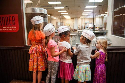 Kids on a Factory Tour