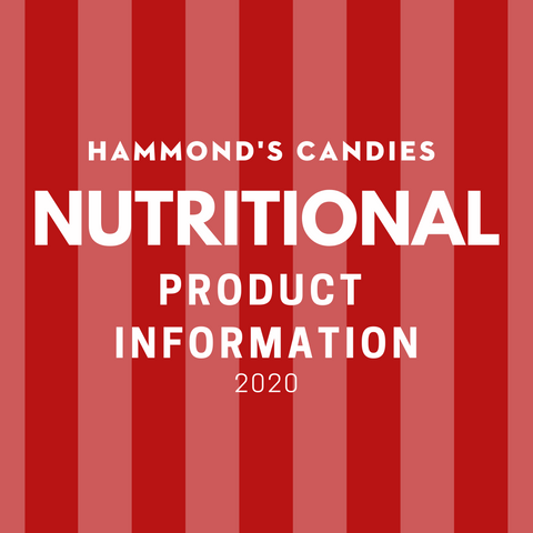 nutritional product information