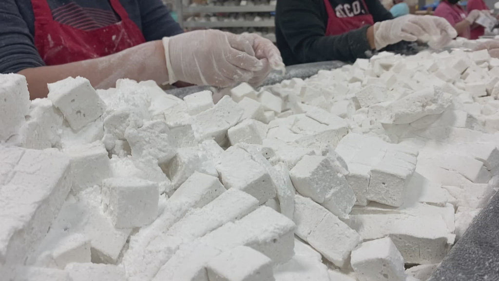 Marshmallows being made video