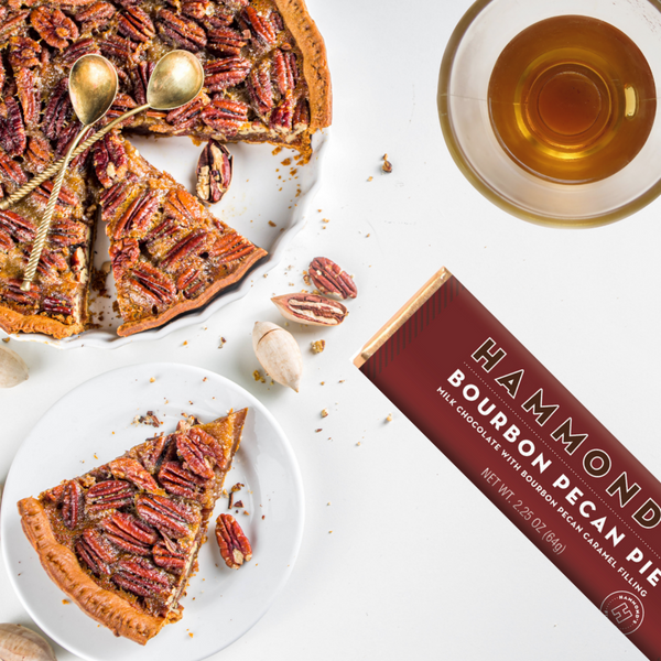 Bourbon Pecan Pie Milk Chocolate Candy Bar social media picture