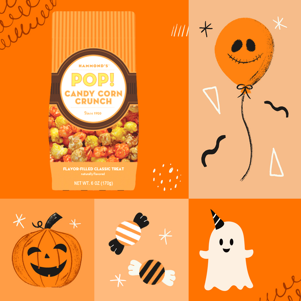 Candy Corn Crunch Popcorn social media photo