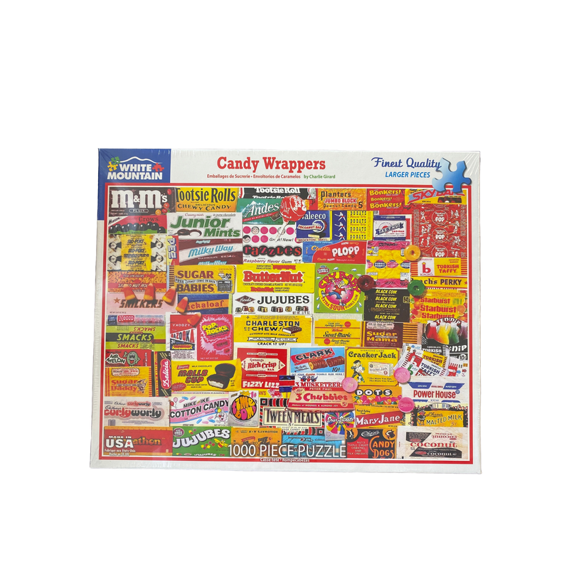 1000 Piece Puzzle-Candy Wrappers
