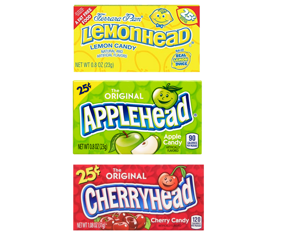 Lemon Head 3 Pack