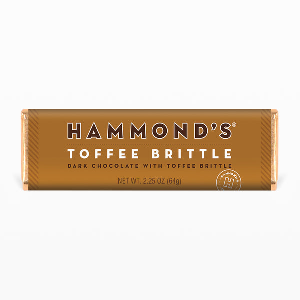 Toffee Brittle Dark Chocolate Bar