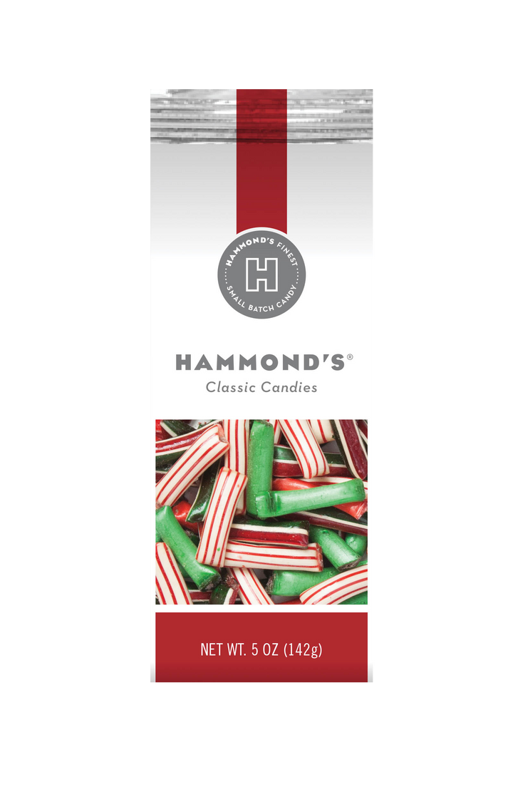 Christmas Mix Straws Filled with Chocolate or Creme Gift Bag