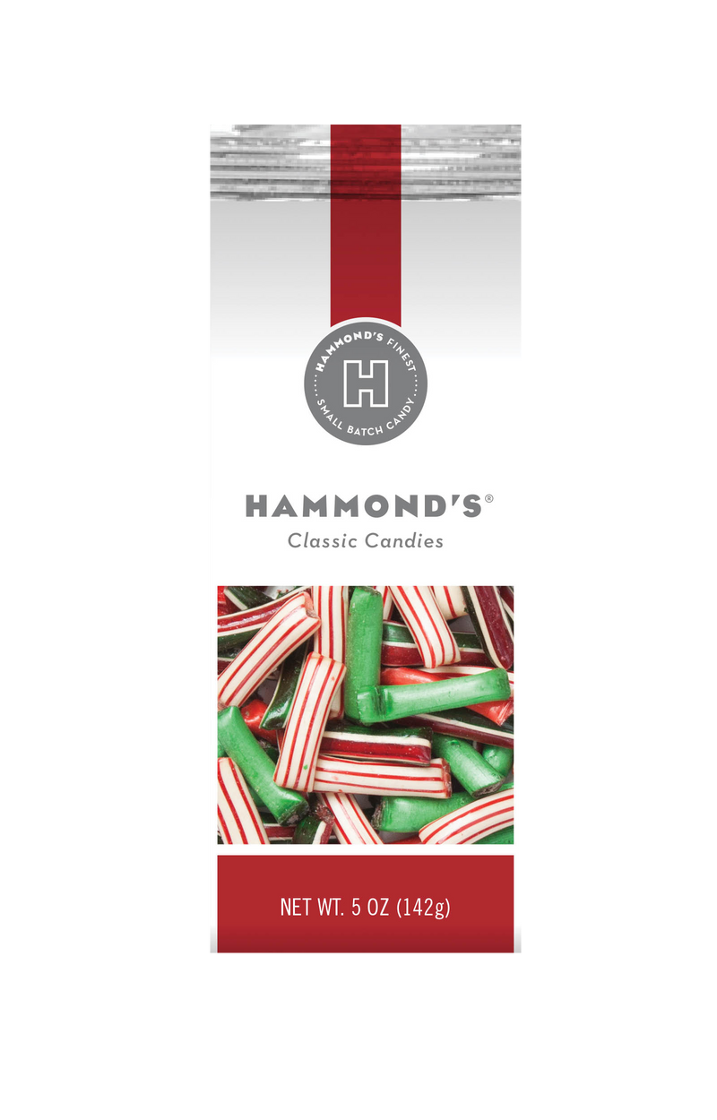 Christmas Mix Straws Filled with Chocolate or Creme Gift Bag Bundles