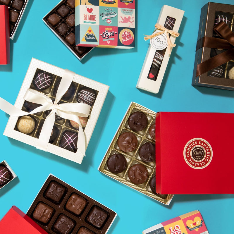 Chocolate box social media picture