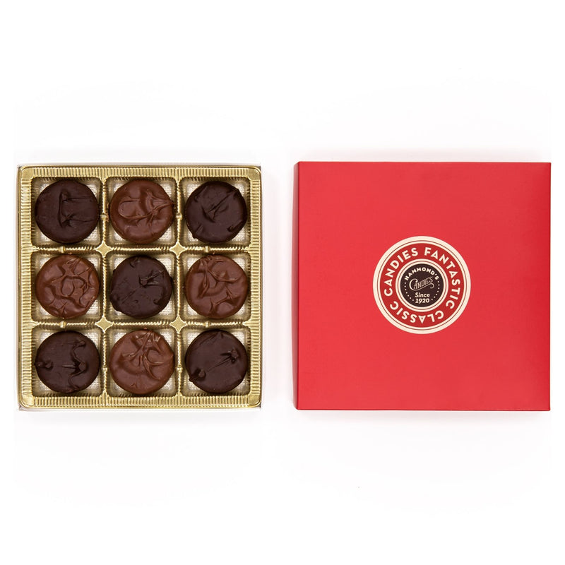 Assorted Chocolate Covered Cookie Red Box