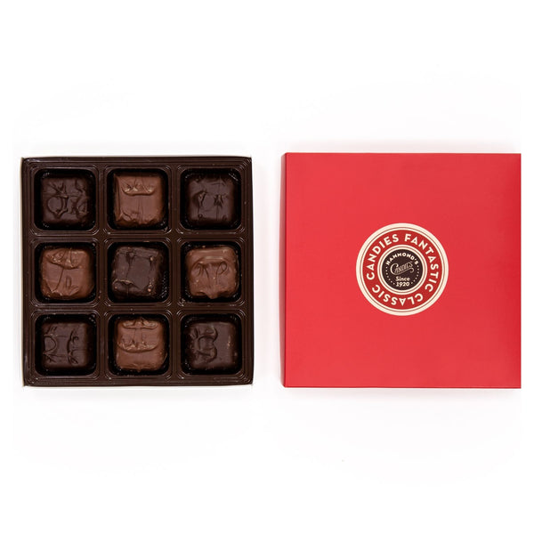 Assorted Chocolate Covered Marshmallow Red Box