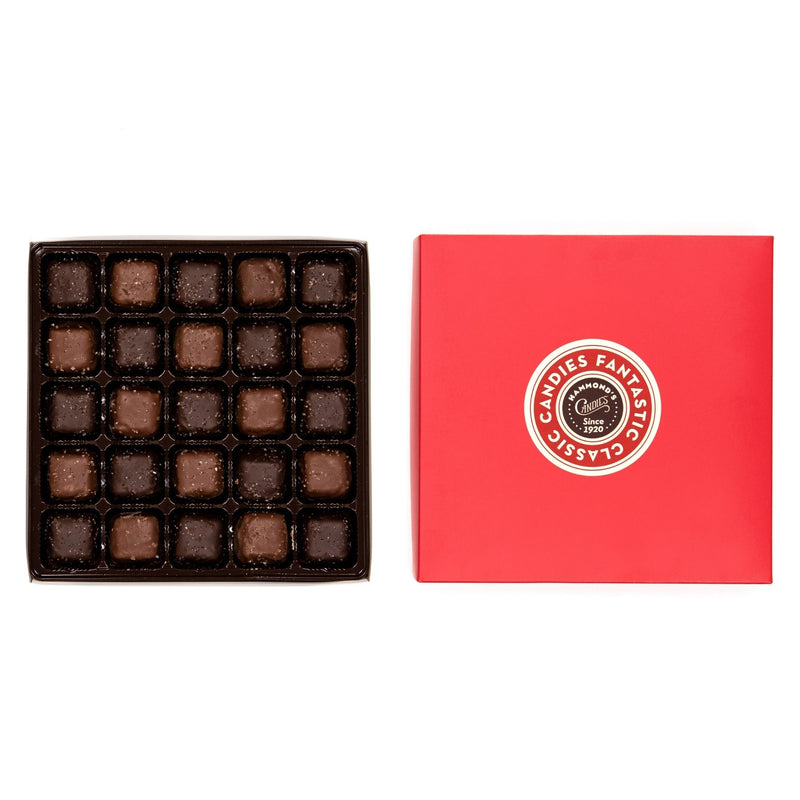 Assorted Salted Caramel Chocolate large red box