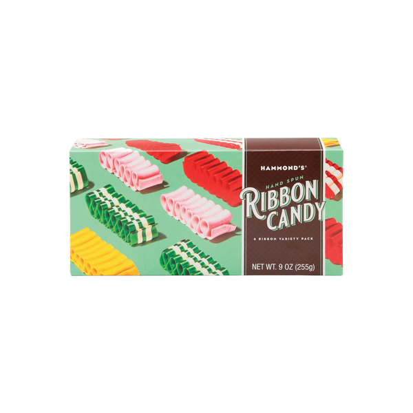 Mint Colored Ribbon Candy Gift Box