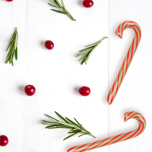 Cranberry Candy Cane Glamour Shot
