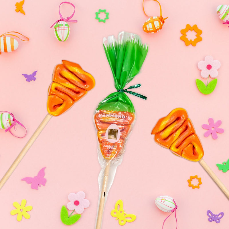 Carrot Lollipop Glamour shot