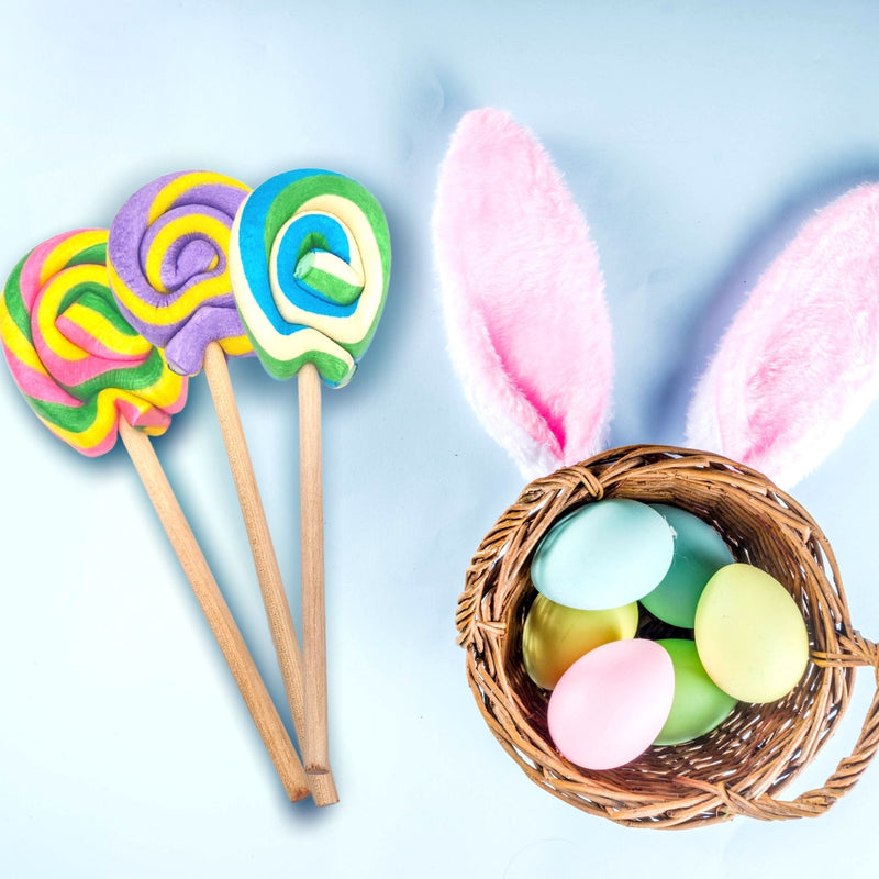 easter Egg Lollipops Glamour Shot