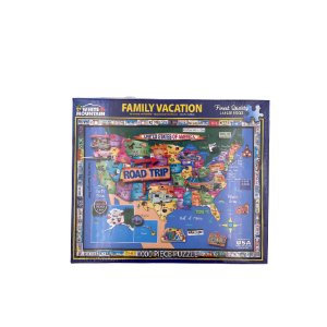 1000 Piece Puzzle-family vacations
