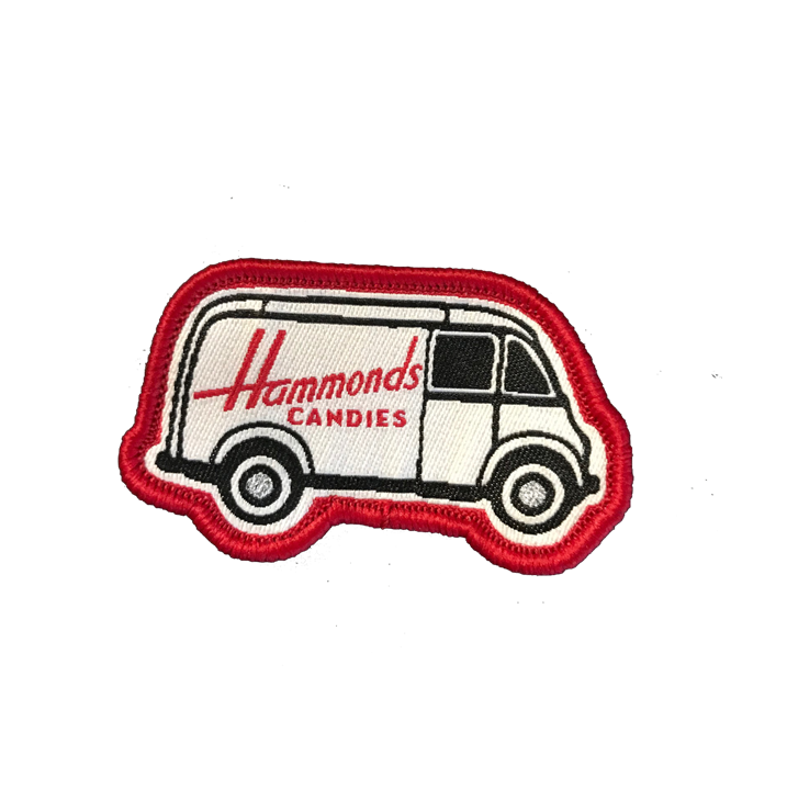 Hammond's Candies Vintage Truck Patch