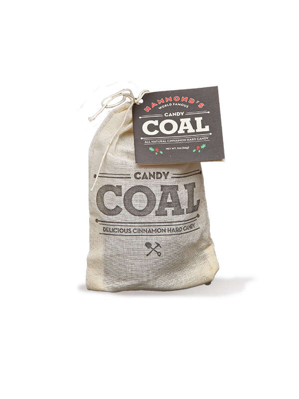 Cinnamon flavored Candy Coal