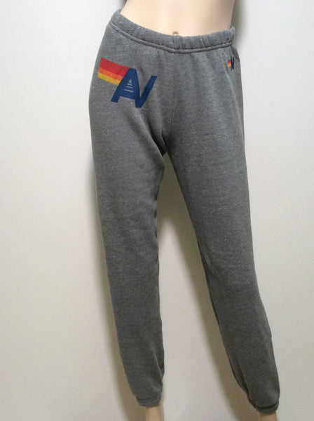 Aviator Nation Classic sweatpants in Heather Grey