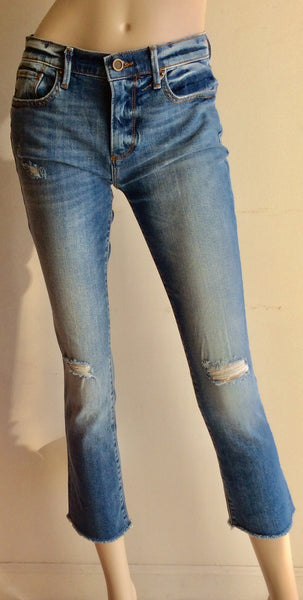 Cropped distressed denim from Driftwood