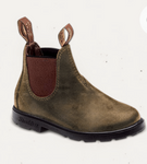 Blundstone kids rustic brown boot