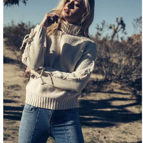 Sage the label amelie sweater in cream