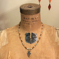 Bonded by Beads Arrowhead necklace